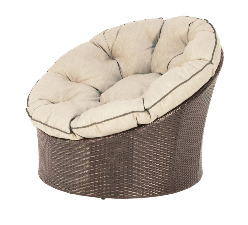 papasan round wicker pod chair outdoor living melbournes